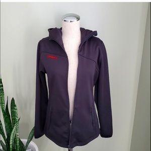 Black O'Neill zip up hoodie